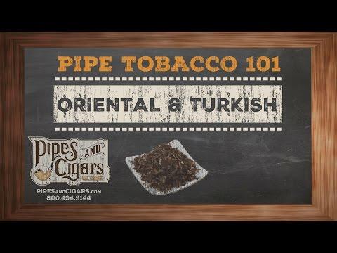 Pipe Tobacco 101 Oriental & Turkish - Pipesandcigars.com