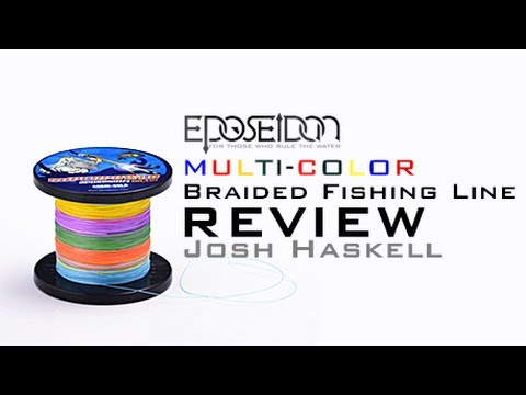 Eposeidon Multi-color Braided Fishing Line Review