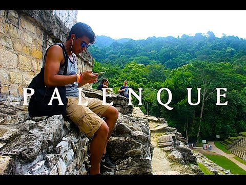 Learning About Ancient Mayans at the Great Palenque Ruins, Mexico (feat. Our Guide: Olivero)