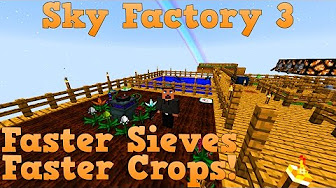 Sky Factory 3 EP19 - Mystical Agriculture Automation PT1 + Void