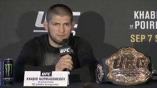 UFC 242: Нурмагомедов vs Порье -  Главные моменты пресс-конференции