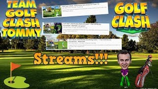 Golf Clash LIVESTREAM, Qualifying round - Masters Division - Royal Open Tournament! BOOOM!