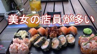 ブルガリア・ソフィア・マリネラホテル(旧ニューオータニホテル)内の日本食屋!Happy Japanese restaurant in Marinera hotel in Sofia,Bulgaria