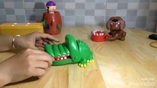 Đồ chơi cá sấu, trộm xương của chó, đâm hải tặc