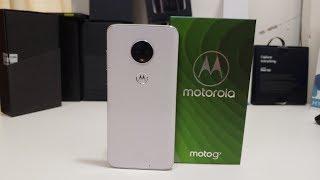 Motorola Moto G7 Unboxing & Initial Setup