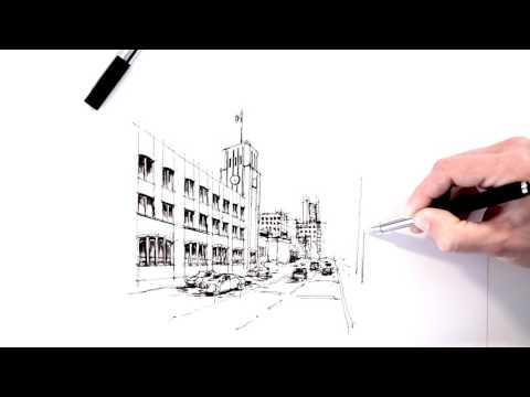 Inking the San Francisco Chronicle building
