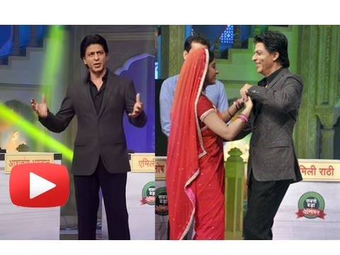 Shahrukh Khan Romances With Sandhya On Diya Aur Baati Hum Sets