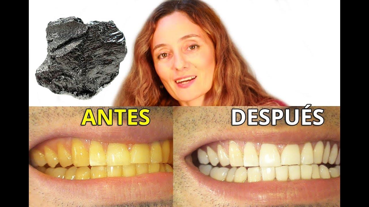 Carbon activado con limpiar dientes como