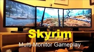 Skyrim | Multi-Monitor Weekday Gameplay | Max Settings HD 7970 | Episode 7 | STRG |