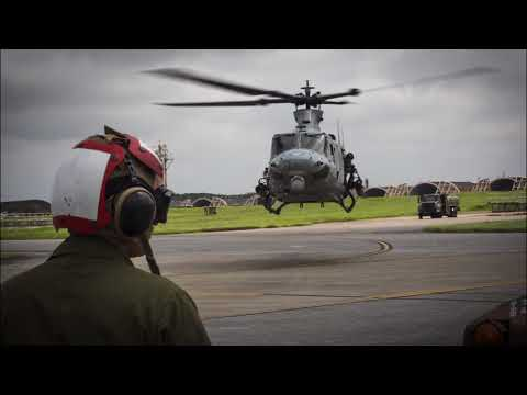 U.S.  Marine Light Attack Helicopter Squadron    1st MAW says farewell 'Vipers'