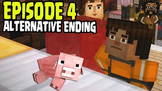 "Minecraft: Story Mode - EPISODE 4 ALTERNATIVE ENDING - ""A Block and a Hard Place"" HAPPY END"