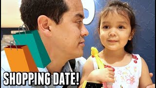 FATHER DAUGHTER SHOPPING DATE! -  ItsJudysLife Vlogs