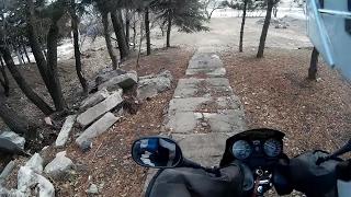 Motosiklet ile Merdiven inmek | Yamaha Ybr 125 sağlamlık testi