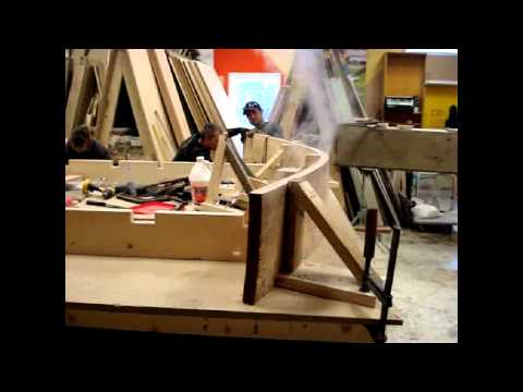 Steam Bending solid Fir