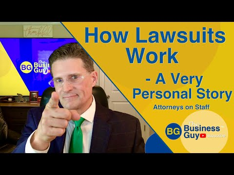 How Lawsuits Work: A Very Personal Story