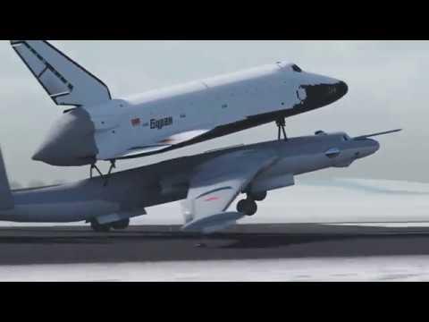 Buran Space Shuttle of the Soviet Union