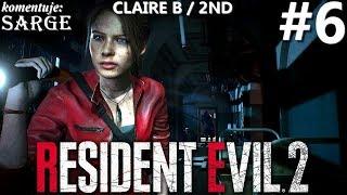 Zagrajmy w Resident Evil 2 Remake PL | Claire B | odc. 6 - Sherry | Hardcore