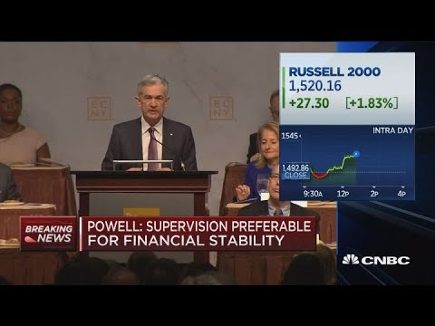 Fed's Powell says progress made around world on financial regulation