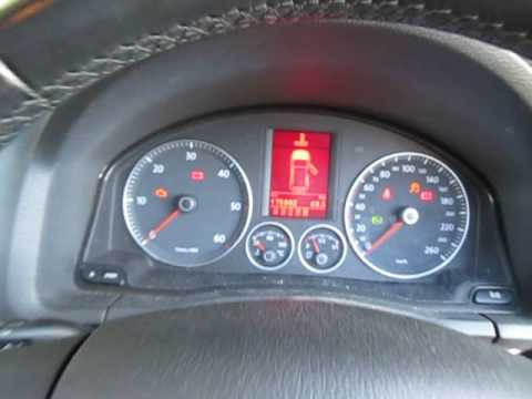 Vw Golf Gear Display Lights Flashing Engine No Start