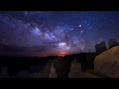Bryce Night Sky Timelapse ~ 4K