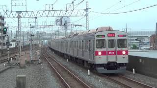 【爆音準急】東急8500系8619F準急南栗橋行き通過22K