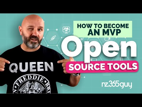 How to Become an MVP - Open Source Tools