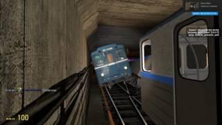 G.Mod - Metrostroi:ТАКОГО ВЫ ЕЩЁ НЕ ВИДЕЛИИИ!:)Начальник и зам начальника: Стыковка, прошла успешно!