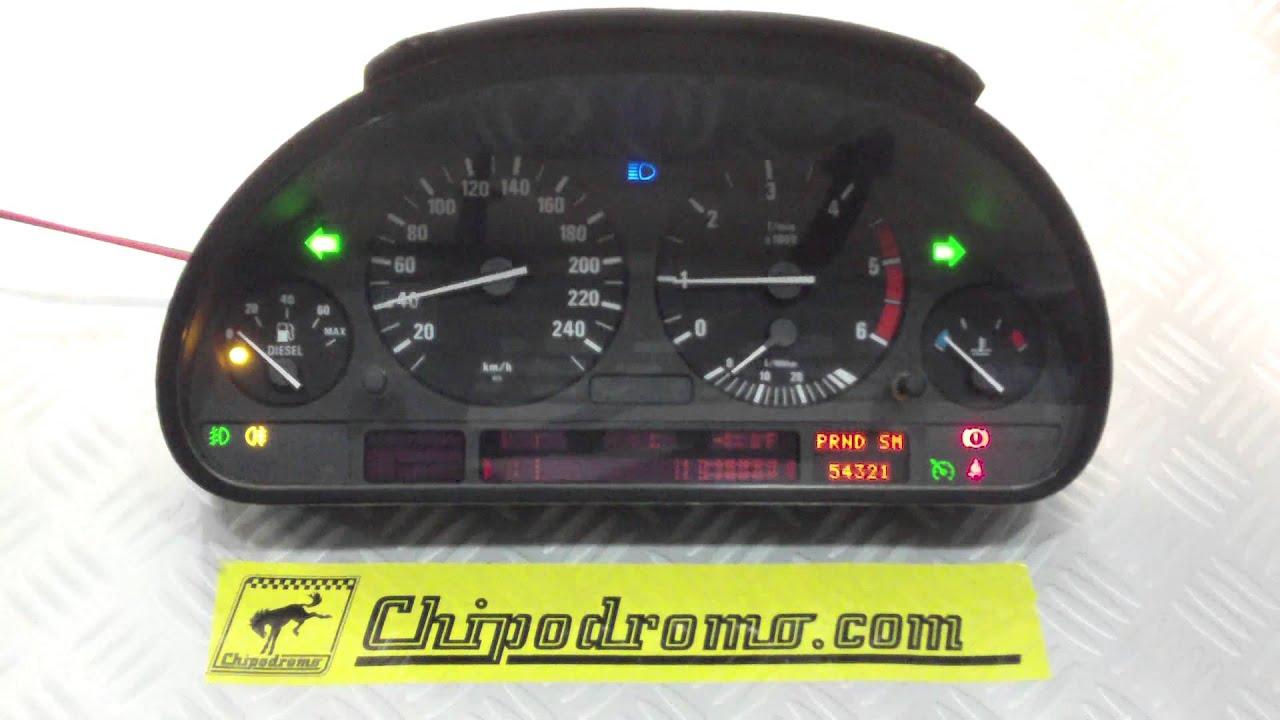 Reparaci 243 N Comprobaci 243 N Cuadro De Instrumentos Bmw E39