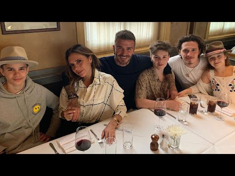 David Beckham Has 'Perfect' Birthday Celebration With Wife And Kids