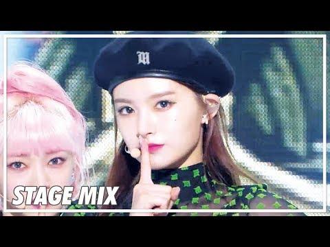 에버글로우 (EVERGLOW) - Adios 교차 편집 (Stage Mix) @Show Music Core