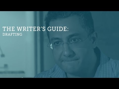 The Writer's Guide: Drafting