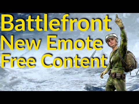 Star Wars Battlefront New Emote, Battlefront Free Content, Community Challenge