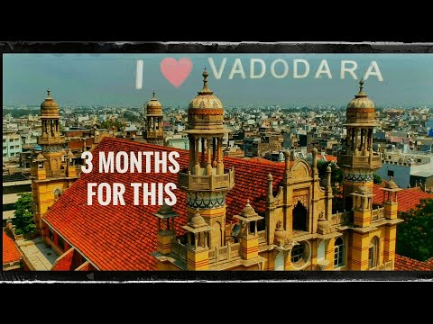 "DRONE SHOTs "" VADODARA  SMART  CITY  in 5 - minutes ""
