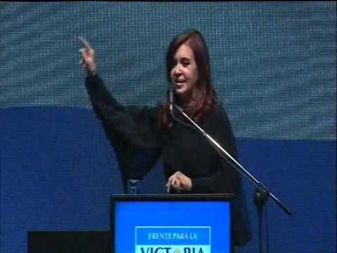 Cristina presentó a los candidatos del Frente para la Victoria