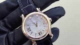 Оригинальные женские часы Chopard Happy Sport 36 mm Automatic 274808-5001(Chopard Happy Sport 36 mm Automatic 274808-5001 Женские часы с подвижными бриллиантами . Где купить оригинальные часы Шопард?..., 2016-02-17T16:16:18.000Z)