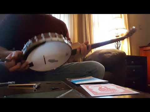 Nashville tuning 6 string Martin Smith banjo Highstrung conversion