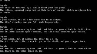 Zork I The Great Underground Empire - 03 Killing thief (Egg, Chalice, Bauble, Canary)