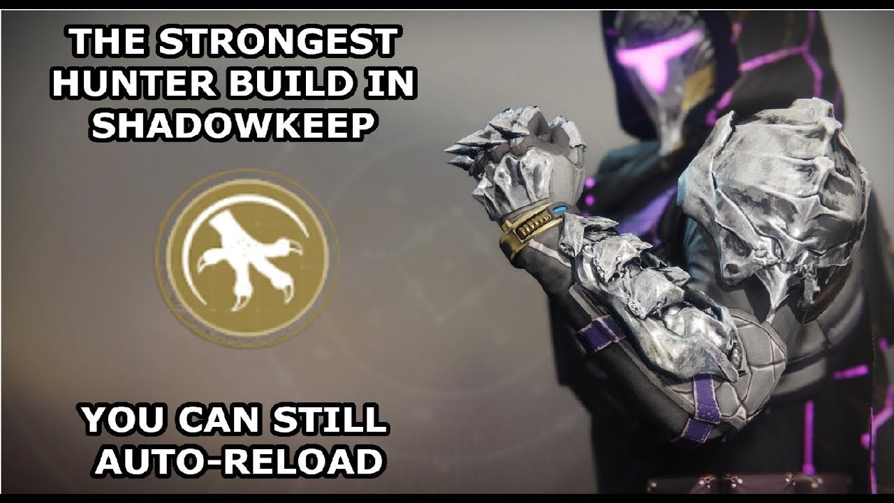 [NERFED] The STRONGEST PvE Hunter Build - Destiny 2: Shadowkeep