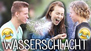 WASSERSCHLACHT FLACHWITZ Challenge mit Alex & Marie