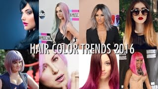 2016 HAIR COLOR IDEAS! (Top Trends)
