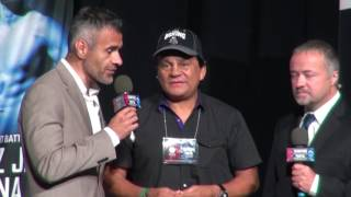 """Roberto Duran talks about the movie """"Hands of Stone"""""""