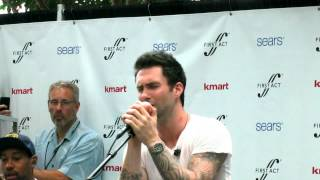 "Adam Levine singing ""Let"