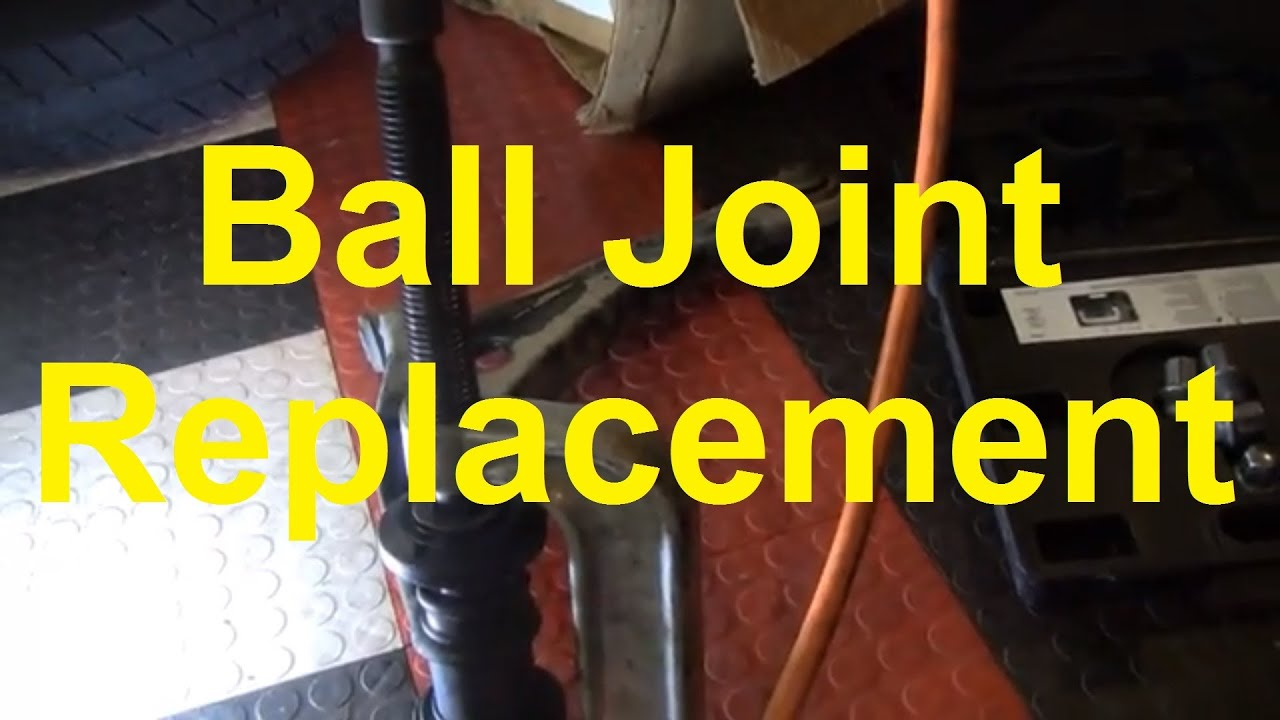 How To Replace A Lower Ball Joint Youtube