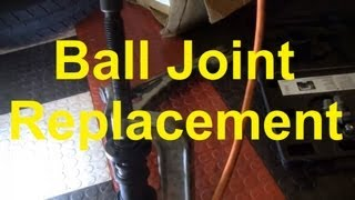 How To Replace A Lower Ball Joint