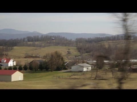Driving through Shenandoah Valley