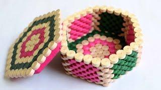 Quilled Hexagon Box/ Jewellery Box/ Hexagon Box