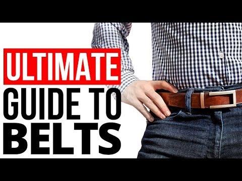 cf9655b73 Man s Ultimate Belt Guide