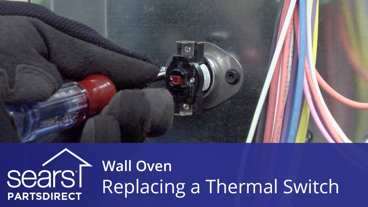 Replacing A Thermal Switch In A Wall Oven Youtube