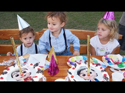 Happy Birthday Song  +More Nursery Rhymes & Kids Songs  LETSGOMARTIN