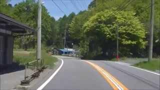 [車載動画]道の駅湯西川~R121号(会津西街道)~道の駅たじま ・5月14日,2015年